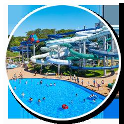 Schwimmbad im Freizeitpark Duinrell